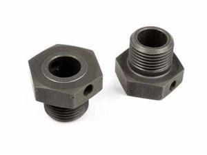 Immagine di Hudy - XRAY XB8/XB8R Trascinatore in alluminio largo 1 mm 2 Pz. (OPTIONAL)