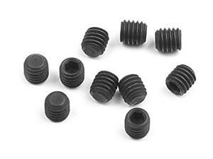 Immagine di Hudy - XRAY XB8/XB8R- XB-808-M3x3 setscrew, hex drive. Set of 10 pieces.