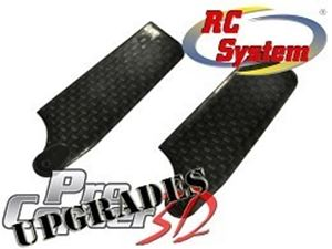 Immagine di RCSystem - Pale rotore di coda in Carbonio PROCopter3D