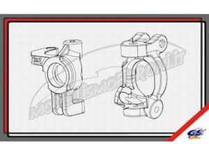 """Immagine di GS Ricambi - Set """"C"""" e barilotti anteriori GS Storm CLX"""