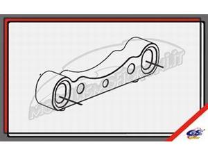 Immagine di GS Ricambi - CLX Piastra anteriore inferiore bumber GS Storm CLX