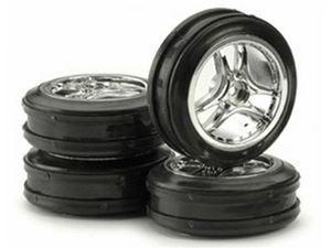 Immagine di Ansmann Racing - Set gomme sparkling drift cromo 1/10