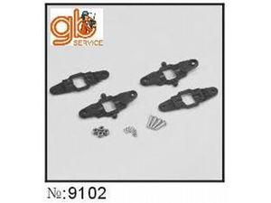 Immagine di Ricambi Elicottero MD500 - Set pinze porta pale MD500 Militare/Civile