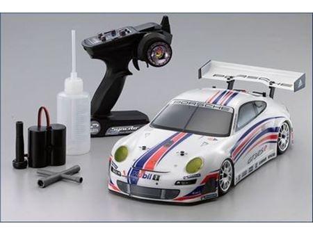 Immagine di Kyosho - Automodello A SCOPPIO 1:10 GP 4WD Fazer Porsche 911 2.4GHz