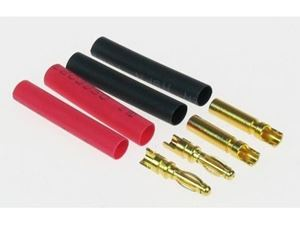Immagine di JP - Connettori 2.0mm GOLD CONNECTOR SET (2 PAIRS + SHRINK)