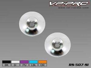 Immagine di VP-Pro - Rondelle in Alluminio Ferma Alettone(Pz.2) Silver