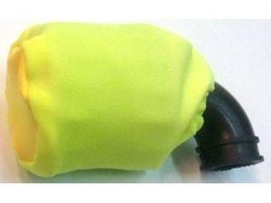 Immagine di Coprifiltro elastico Giallo Chiuso universale per filtro aria  off road 1/8