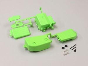 Immagine di Kyosho Ricambi MP9 - Box Batteria + Box Ricevente Verde