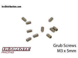 Immagine di ULTIMATE RACING - Grani  M3 x 5mm (10 pz.)
