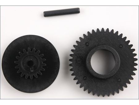 Immagine di Kyosho  - Gear/shaft For EP STARTER UNIT GS15R/PR/V-ONE SERIES