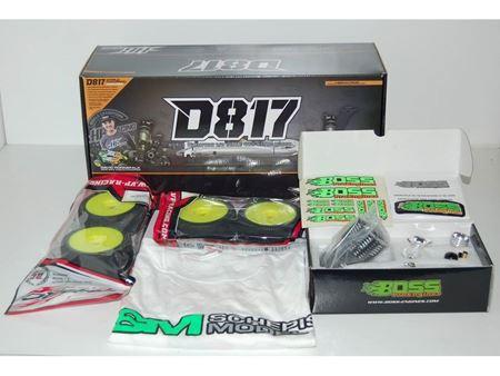 Immagine di OFFERTA - Hot Bodies D817 1/8 Nitro + Motore Z3 +Marmitta  collettore+Treno Gomme e T-shirt
