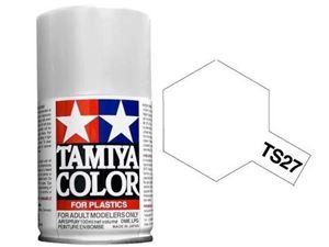 Immagine di Tamiya - Smalto spray TS-27 Bianco Opaco 100 ml