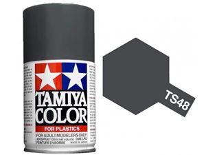 Immagine di Tamiya - Smalto spray TS-48 Gunship Grey 100 ml