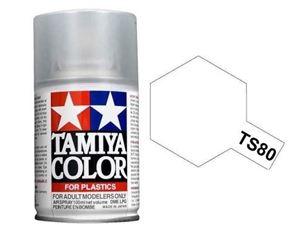 Immagine di Tamiya - Smalto spray TS-80 Flat Clear 100 ml